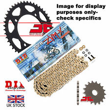 Honda NX650 Dominator  89-90 DID X Ring Pro Gold Chain Kit 15/45t 520/108