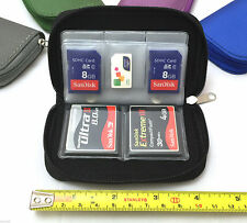 CF Micro SD SDHC MMC Memory Card Holder Storage Carry Pouch Wallet Case - B Case