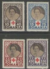 ROMANIA SG1643/6 1945 RED CROSS RELIEF FUND MNH