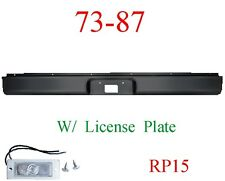 RP15 73 87 Chevy Roll Pan Rear, W/License Plate Light, GMC Truck