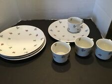 Vintage Seltmann Weiden Porcelain Bavaria W Germany Tea Luncheon Set Plates Cups