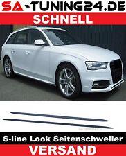 Für Audi A4 B8 A5 S5 Seitenschweller Leisten Seitenleisten S-Line Schweller #14