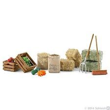 Schleich 42105 - Horse and Animal Feed Set Play food - Horse Stable Farm Life