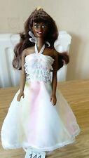 """Bambola Barbie 11/12"""" Nero mozzafiato bambola ha una parte del corpo del bianco (144r) proprio BELLA"""