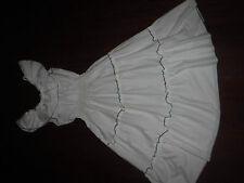 TRUE VTG MISTRA 70'S OFF SHOULDER SHEER COTTON BLEND  DRESS LADIES SZ 38 / S
