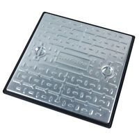 Manhole cover & Frame 300 x 300mm Clark Drain pc2ag 2.5 tonne