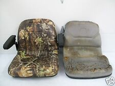 NEW CAMO SEAT FORD NEW HOLLAND TC BOOMER COMPACT TRACTOR TC18,25,29,33,40,45 #OI