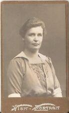 CDV photo Damenportrait - Österreich um 1920