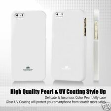 Genuine MERCURY Goospery Soft Pearl Jelly Case Cover Skin For Apple iPhone SE