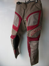 "Kids Youth Red Scott Pants Sz 28"" Age 11-13 Motocross Trousers Honda Mx"