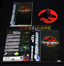 THE LOST WORLD JURASSIC PARK Sega Saturn Versione Italiana ••••• COMPLETO
