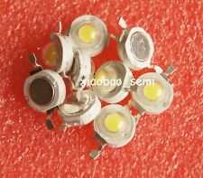100pcs Pure White 1W Led Chip High Power LED Beads 100-110LM
