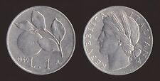 1 LIRA 1949 ARANCIO - ITALIA