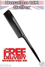 3 X Duralon Cola de rata barberos Peine de Cabello Resistente al Calor antiestático Irrompible UK