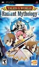 Tales of the World Radiant Mythology PSP New Sony PSP