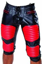 Football Leather Pants AMERICAN LEATHER FOOTBALL PANTS WITH FULL REAR ZIP