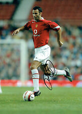 Ryan GIGGS Signed Autograph 16x12 Man United Football RARE Photo AFTAL COA