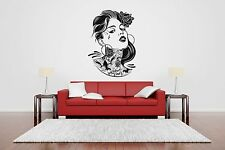 Wall Room Decor Art Vinyl Sticker Mural Decal Pin Up Girl Tattoo Poster SA255