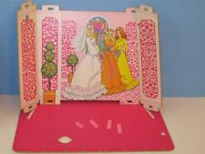 1975 VTG FaShIoN PlAzA RePlAcEmEnT PaRt LoT ~ STORE Wedding Room ~ Diorama OOAK