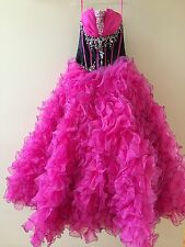 Pageant, Quince or Prom ball gown style dress size 10 (under skirt included)