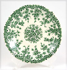 Crown Ducal EARLY ENGLISH IVY - GREEN  Saucer Only 5.75 in. Vines, White