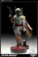 Star Wars Boba Fett 12 inch Figure by Sideshow Collectibles Used