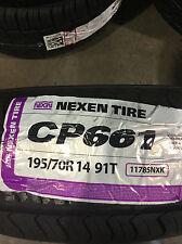 4 New 195 70 14 Nexen CP661 Tires