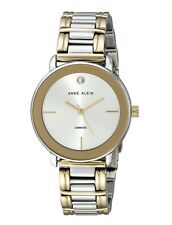 Anne Klein Watch * 1991SVTT Diamond 2 Tone Gold & Silver Steel Women COD PayPal