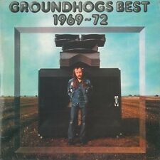THE GROUNDHOGS Groundhogs Best 1969-72 LP United Artists UDF 31 1974 EX 1st