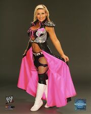 "WWE NATALYA PHOTO STUDIO 8x10"" OFFICIAL WRESTLING PROMO HART DIVA"