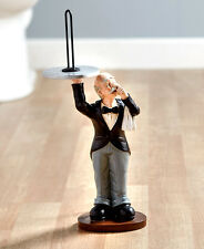Humorous Butler Shaped Toilet Paper Holder Novelty Paper Holder Bath Decor