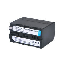 6600mAh NP-F960 NP-F970 Batteries for SONY CCD-RV CVX DCR DSR EVO GV HDR Series