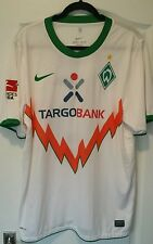 Firmato MATCH WORN WERDER BREMA Maglietta da calcio prodl 15 XL TRIKOT Player Issue