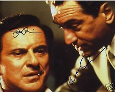 CASINO CAST ROBERT DE NIRO & JOE PESCI AUTOGRAPH SIGNED PP PHOTO POSTER
