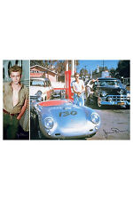 James Dean 2 Individual Posters! Trailer Car Porsche Classic Cultural Icon
