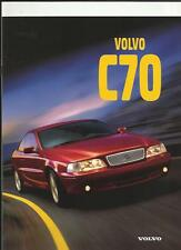 VOLVO C70 COUPE SALES BROCHURE 1997 - FRENCH