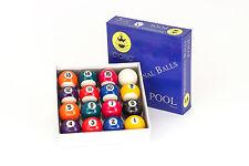 Boules de billard jeu de billes Pool Classic A-Qualité 38mm