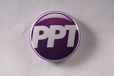 Working Peoples Party of Puerto Rico PPT Left Socialist Button Pin 1""
