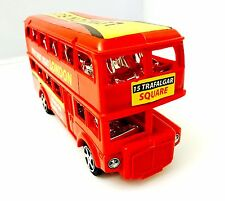 Plastic London Red Bus Toy Great Gift Souvenirs UK London Bus 16.5x7.5x5.5 cm