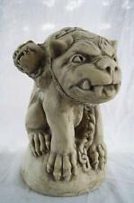 Three Head Pig Gargoyle Grotesque Cast Plaster Statuary
