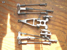 JR VIBE 90 ALLOY ELEVATOR & AILERON CONTROL ARMS C/W LINKS