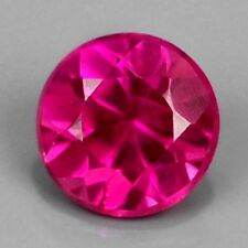 ONLY! $4.64/1pc 1.8mm Round Natural Pinkish Red RUBY,