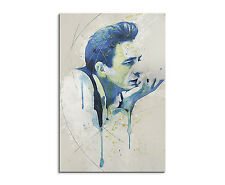 90x60cm paul sinus splash type peintures Johnny Cash chanteur cadeau article