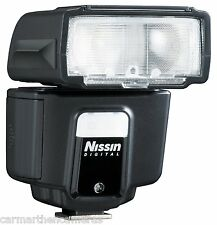 Nissin New i40 flashgun for Fuji , Head Design + very compact flash