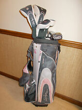 LEFT-HANDED LADY HAGEN INSPIRE COMPLETE GOLF SET - VERY GOOD CONDITION!