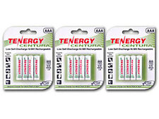 3 Cards: 12 Centura AAA LSD Nimh Rechargeable Batteries