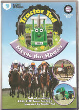 TRACTOR TED - MEETS THE HORSES - CHILDREN'S DVD FARMING NEW