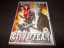 NEW DVD CITY OF FEAR Gary Daniels & Carol Campbell Martial Art Action FAST POST