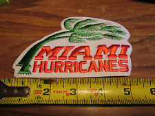MIAMI HURRICANES  PATCH SWEET LOOKING 5 INCHES