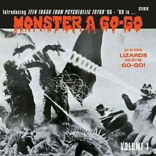 MONSTER A GO-GO TEEN TRASH FROM PSYCHEDELIC TOKYO '66-'69 VOL 1 CD